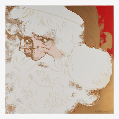 Andy Warhol, 'Santa Claus from the Myths portfolio', 1981