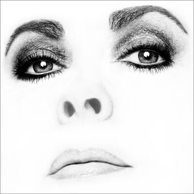 Firooz Zahedi, 'Elizabeth Taylor/ Close-Up'