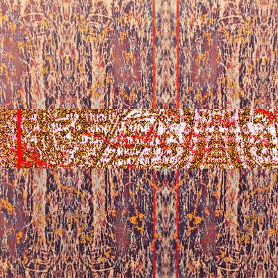 Joseph Nechvatal, 'viral attaque : garlands abOund', 1992