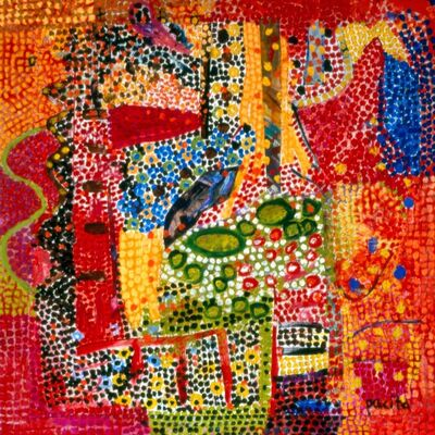 Pacita Abad, 'Troubled by desire', 1997