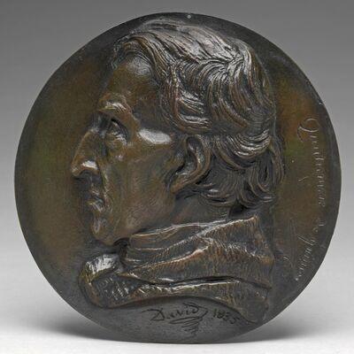 Pierre-Jean David d'Angers, 'Antoine Quatremère de Quincy, 1755-1849', 1835