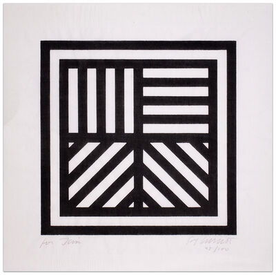 Sol LeWitt, 'Lines in Four Directions', 1993