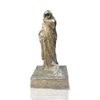 Leonardo Bistolfi, 'Donna con mantello [woman in cloak]', 1912