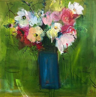 Jo Vollers, 'Daisies and Tulips', 2020