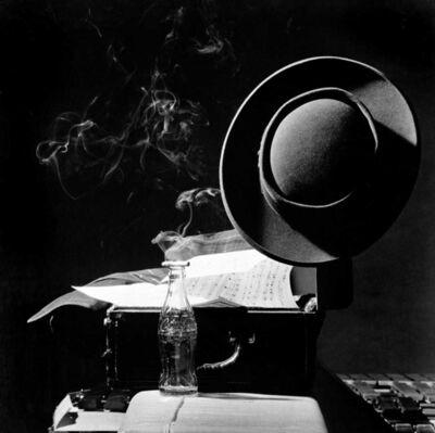 "Herman Leonard, 'Lester ""Prez"" Young, NYC', 1948"