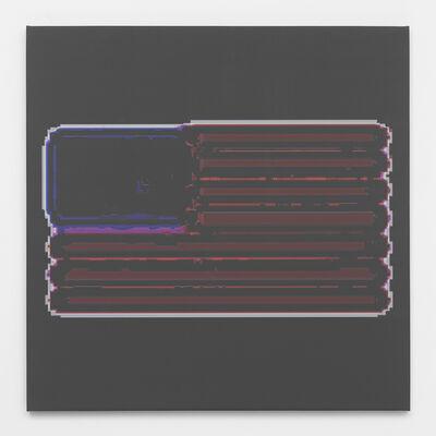 Mark Flood, 'Layer File Flag', 2014