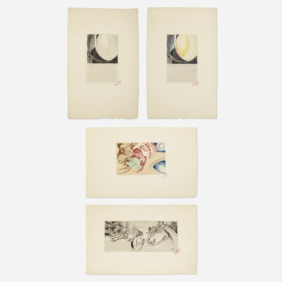 František Kupka, 'Untitled (four works)', 1913