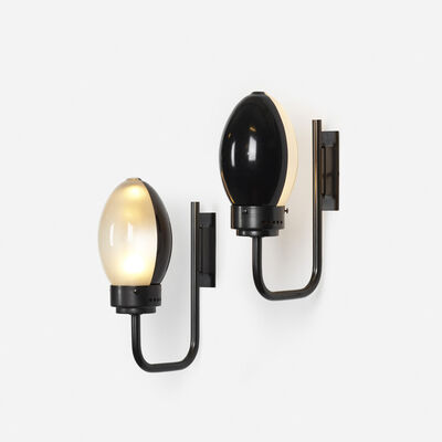 Franco Albini and Franca Helg, 'Ochetta sconces pair, model 3052', 1962