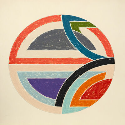 Frank Stella, 'Sinjerli Variations', 1977