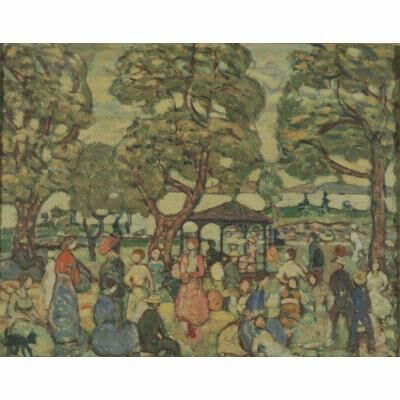 Maurice Brazil Prendergast, 'Landscape with Figures No. 2', 1918