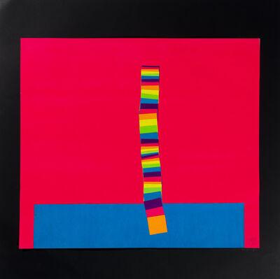 Franco Costalonga, 'Traslazione di quadrati - Col I e II', 1971
