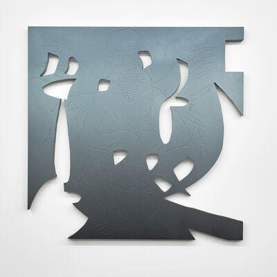 """Bradford Kessler, '""""New Icon (It Came in the Rain)""""', 2015"""