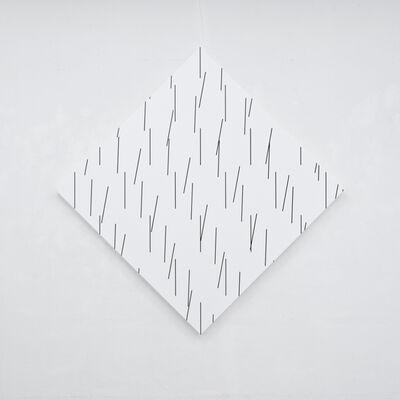 François Morellet, '3D concertant n°10: 100°-90°-88°', 2015