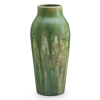 Fulper Pottery, 'Tall Vase, Flemington, NJ', 1910s-20s