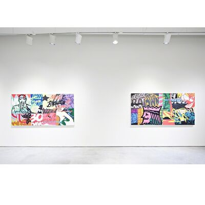 Aaron Whisner- Levels, installation view