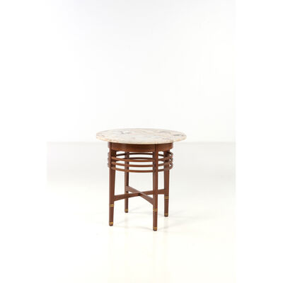 Gustave Serrurier-Bovy, 'Pedestal table'