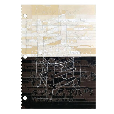 Ed Rainey, 'Drawing Notes (Van Gogh's Chair)', 2018
