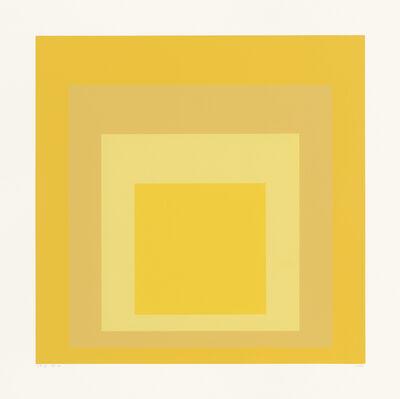 Josef Albers, 'SP X ', 1967