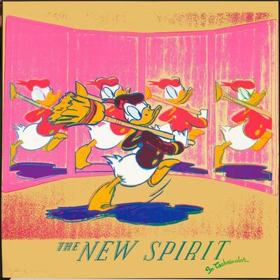 Andy Warhol, 'The new spirit (Donald Duck)', 1985