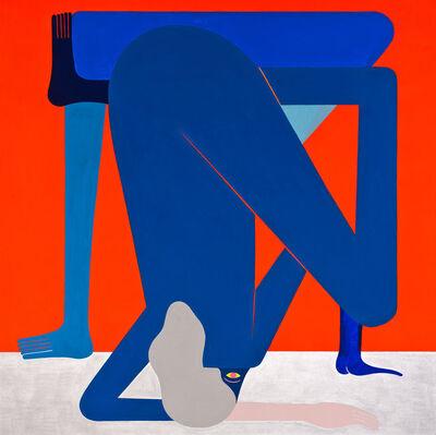 Richard Colman, 'Awkward Figure (Red)', 2016
