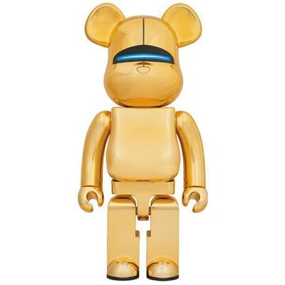 Hajime Sorayama, 'Signed Edition Bearbrick x Hajime Sorayama Sexy Robot 1000% Gold', 2018