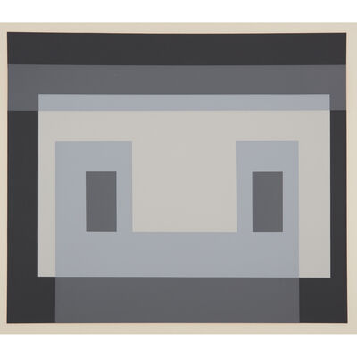 Josef Albers, 'Six Variants (Portfolio of 6)', 1969