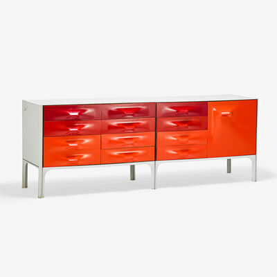 Raymond Loewy, 'Two DF-2000 cabinets, France', 1970s