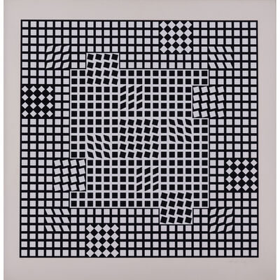 Victor Vasarely, 'Untitled, from the NB Kinetics portfolio', 1975
