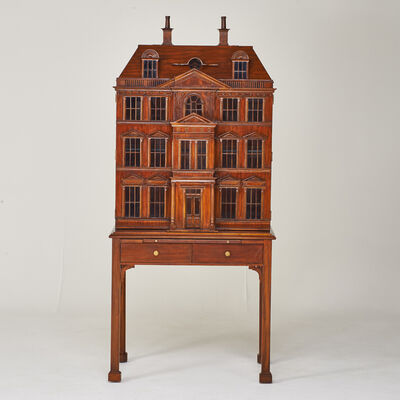 Maitland-Smith, 'Bar cabinet, designed from a Georian Mansion dollhouse', 1990s