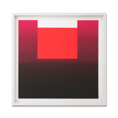 Rupprecht Geiger, 'Different Reds', 1981