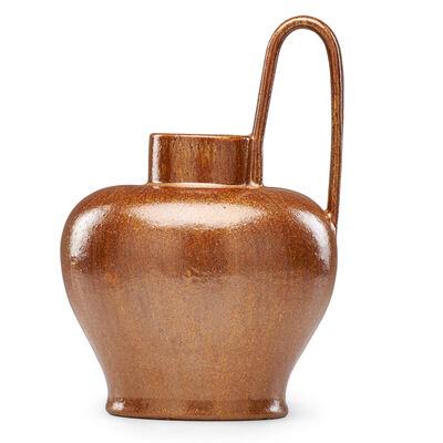 Fulper Pottery, 'Jug, Copperdust Crystalline glaze, Flemington, NJ', ca. 1920