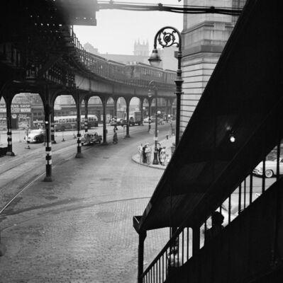 Vivian Maier, 'VM1954W00149-10-MC, Untitled, 1954 Elevated Train', 1954