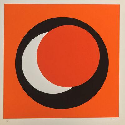 """Geneviève Claisse, 'Untitled """"Composition au cercle Jaune""""'"""