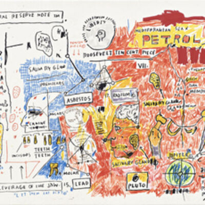 Jean-Michel Basquiat, 'Liberty', 2017
