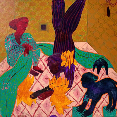 Rusudan Khizanishvili, 'Knitting a Story', 2020