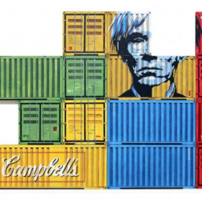 Lalo Cruces, 'Tetris Warhol', 2016