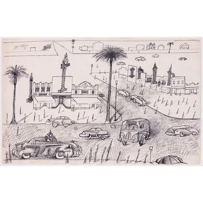 Saul Steinberg, 'Florida', 1953