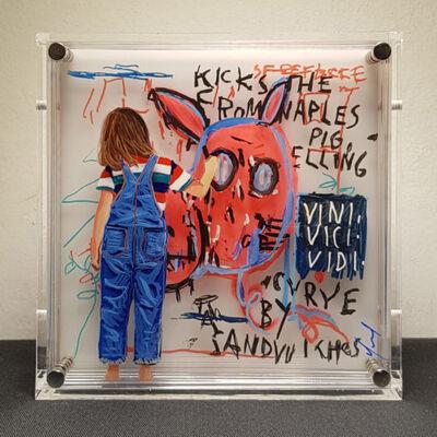 Yosman Botero, 'Common things 182 (Basquiat)', 2018