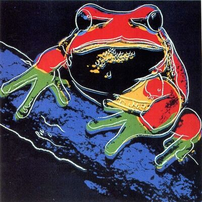 Andy Warhol, 'Pine Barrens Tree Frog II.294', 1983