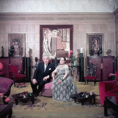 Slim Aarons, 'Cosmetics Princess, New York', 1950