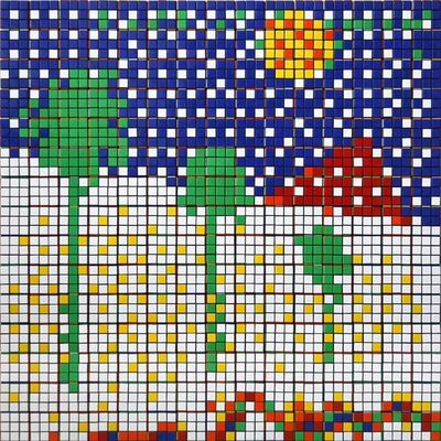 Invader, 'Rubik Boys Don't Cry', 2009