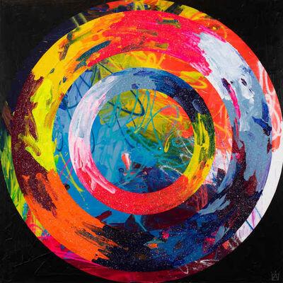 Ben Allen, 'Abstract Circles - Infinity 2', 2019