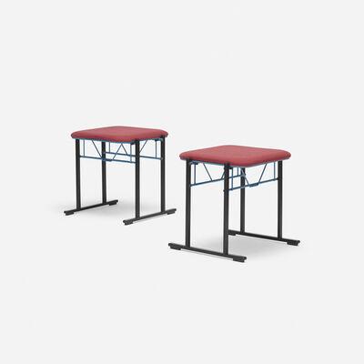 Yrjö Kukkapuro, 'A500 stools, pair', 1985