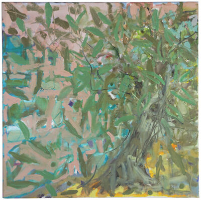 Margaret Tsirantonakis, 'Cretan Olive Tree by the Sea', 2018