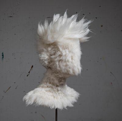 Salman Khoshroo, 'Wool Bust Experiment', 2019