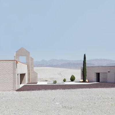 Lauren Marsolier, 'Building and Pines', 2010