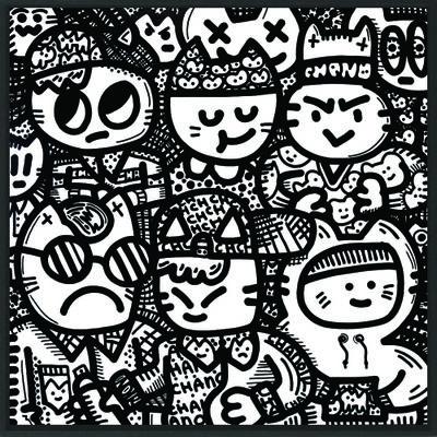 Alberto Vejarano (AKA CHANOIR), 'Cha Tattoo Two', 2016
