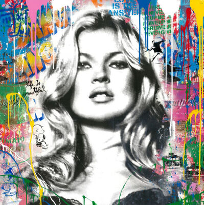 Mr. Brainwash, 'Kate Moss: Cover Girl', 2019