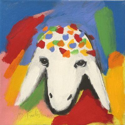 Menashe Kadishman, 'SMALL BIRTHDAY SHEEP,', 2000