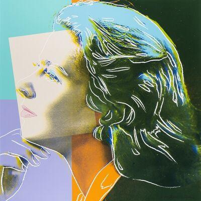 Andy Warhol, 'Ingrid Bergman. Herself (Feldman & Schellmann 313)', 1983
